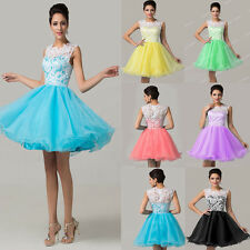 Sexy Short Homecoming Party  Dress Evening Gown Formal Bridesmaid Prom Cocktail