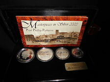 2003 Masterpieces in Silver Port Phillip Patterns 4-Coin Proof Set