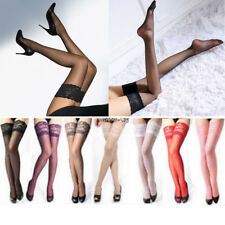 Sexy Womens Ladies Lace Top Stay Up Thigh High Stockings Nightclubs Pantyhose
