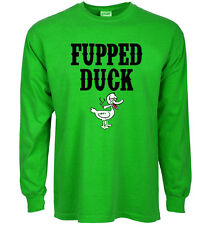 Funny St Patrick's day t-shirt Fupped Duck beer drunk pub bar crawl tee shirts