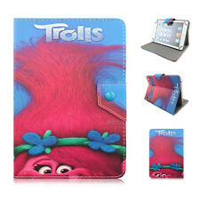 7-7.9inch Pu leather universal tablet case movice characters trolls for kids