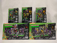 Mega Bloks CLASSIC METAL TMNT Teenage Mutant Ninja Turtles Bebop Rocksteady