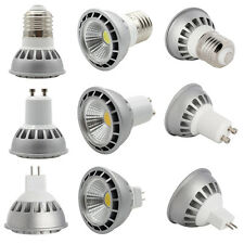 Ultra Bright 15W LED COB Spot Light Bulb Lamp E27 GU10 MR16 Dimmable Spotlight