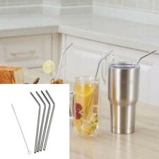Set 4/6*Free SipWell Stainless Steel Drinking Straw Cleaning+1*Brush Party Bar