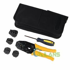 WXK-30JN Crimping Plier Set Kit+Screwdriver Crimping Module for End Sleeves Tool