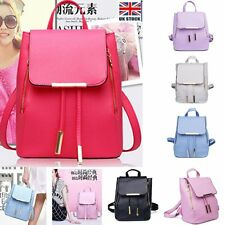 Women Leather Backpack Satchel School Shoulder Handbag Laptop Bag Rucksack New