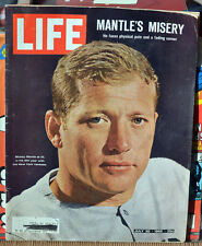 LIFE Magazine MICKEY MANTLE Mantle's Misery July 30, 1965