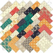 "Moda Charm Packs Valley Charm Pack 42 5"" Precut Quilting Quilt Cotton Squares"