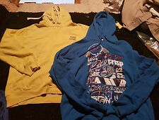 Men Blue Footlocker and Yellow Soul Cal Hoodie Size M & XLin good condition