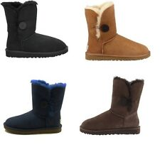 UGG Australia Bailey Button Womens Shearling Lined Winter Boots