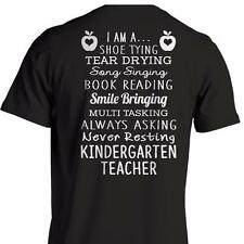 I'm A Kindergarten Teacher - Teacher School T-Shirt Short Sleeve 100% Cotton NEW