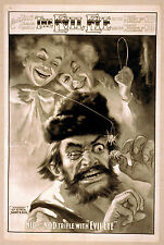 Photo Print Vintage Poster: Stage Theatre Flyer The Evil Eye A02