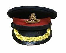 Dress Cap Forage Cap, Colonel Hat Military Army Royal Artillery Badge R1861