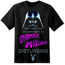 Mens Darth Vader Sparkle Motion Donnie Darko Funny Movie T Shirt Quote Frank