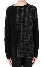 VIKTOR & ROLF Woman New Sweater Cable-knit Alpaca Wool Made in Italy Authentic