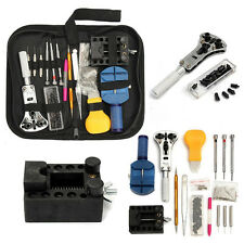 144x Watch Repair Tool Kit Opener Link Remover Spring Bar Band Pin Carrying Case