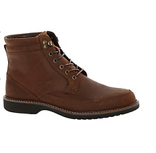 BNIB Mens ECCO Oiled Leather Boots Cocoa Brown Sizes UK 8/9.5/10.5   RRP  £130