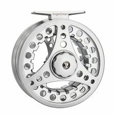 Fly Fishing Reel Combo 1/2/3/4/5/6/7/8WT Large Arbor Aluminum Reel & Fly Line