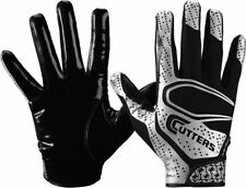 Cutters Rev 2.0 Youth Football Receiver Gloves, New