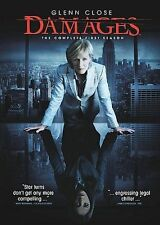 Damages - The Complete First Season (DVD, 2008, 3-Disc Set), NEW !!!