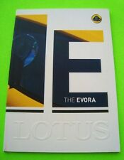 2012 LOTUS EVORA DELUXE (prestige?) COLOR CATALOG Exotic Sports Car MINT 48-pgs