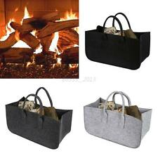 Chic Fireplace Firewood Firewood Log Caddy Felt Tote Bag New Carrier Holder Bags