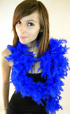 New Feather Boa Blue Red White Pink Black Arty Real Feathers Party Fashion