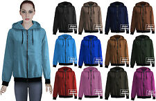 Unisex Wind Stopper Zip Up Waterproof Top Rain Hooded Jacket Size XS-XXL 412