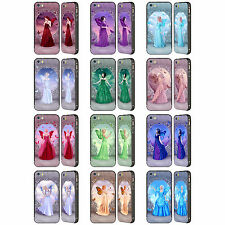 RACHEL ANDERSON BIRTH STONE FAIRIES BLACK SLIDER CASE FOR APPLE iPHONE PHONES