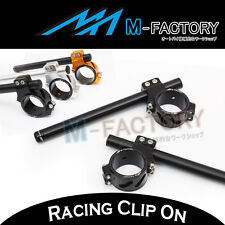 Fit Ducati 848 1098 1198 S / R All Racing  CNC Billet Clip On Handle bars