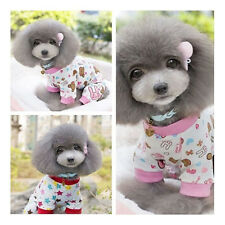 Cute Puppy Star/Rabbit Style Pajamas Clothes Pet Dog Jumpsuit Shirt Apparel