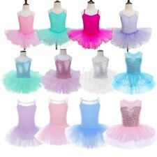 2-12 Years Children Girls Kids Tutu Skirt Dress Ballet Dance Dress Fancy Costume