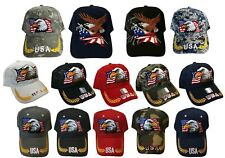 USA Patriotic American Eagle Flag Daddy Style Military Army Baseball Hat Cap