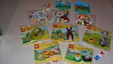 Choice LEGO New Sealed EASTER polybags 1545 1551 1677 10071 10168 10169 40017 +