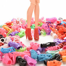 15/30/60 Pairs Doll Shoes Multiple Styles Heels Sandals For Barbie Dolls WH