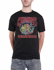 Guns N Roses T Shirt Illusion Monsters Tour 1992 - 1993 Official Mens New Black