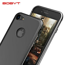 BOBYT Aluminium Metal Bumper Frame With PC Back Case Cover For iPhone 7 & 7 Plus