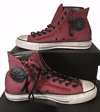 Converse by John Varvatos Chuck Taylor Double Zip Hi Sneaker Red 150169C