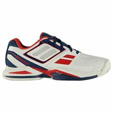 Babolat Propulse Court Tennis Shoes Mens White Trainers Sneakers Sports Shoes