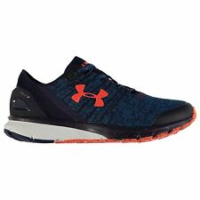 Under Armour Charged Bandit 2 Running Shoes Mens Peacock/Nvy Trainers Sneakers