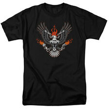 BIKER EAGLE Ride to Live, Live to Ride Adult T-Shirt All Sizes