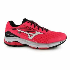Mizuno Wave Inspire 12 Running Shoes Womens Pnk/Bk Trainers Sneakers Sports Shoe