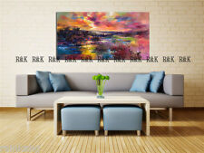 Modern Abstract Large Wall Decor Oil Painting On Art Canvas,COLORFUL(No Frame)