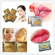 Hotsale Gold Crystal Collagen Anti-Ageing Eye Mask Face Mask Lips Care Masks