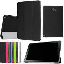 """Leather Stand Case Cover for Samsung Galaxy Tab A 10.1"""" /W S Pen SM-P580 Tablet"""