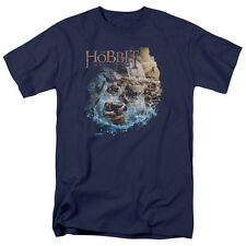 Hobbit Movie BARRELING DOWN Licensed Adult T-Shirt All Sizes