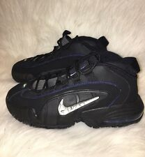 Nike Air Max Penny LE Basketball Shoes Black Blue White Youth Sz. 4.5,5.5,6.5,7