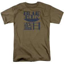 Firefly TV Show BLUE SUN LOGO Vintage Style Adult T-Shirt All Sizes