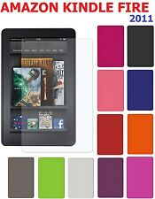 AMZER Silicone Skin Fit Jelly Case Screen Protector For Amazon Kindle Fire 2011