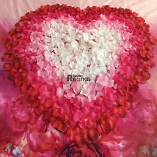 100pcs 5x5cm Silk Rose Flowers Petals for Wedding Party Table Confetti AN1801